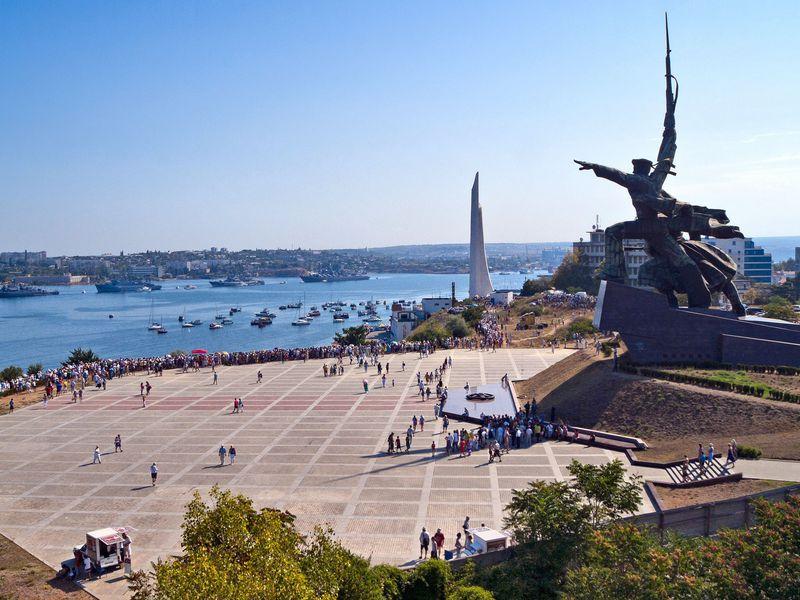 Севастопольский альбом: визитные карточки города width=