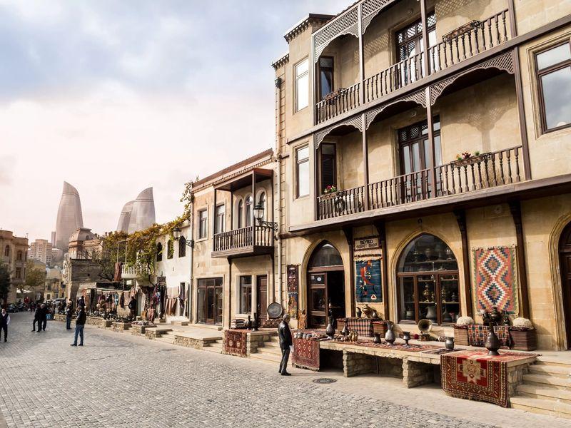 Баку и его необычные окрестности (4 в 1)
