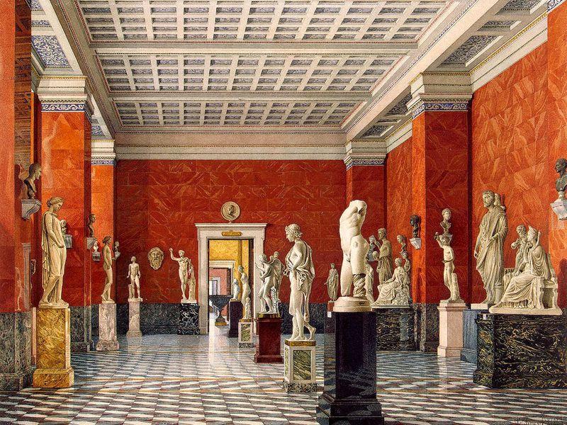 Экскурсия И боги были детьми! Детская экскурсия по Античным залам Эрмитажа