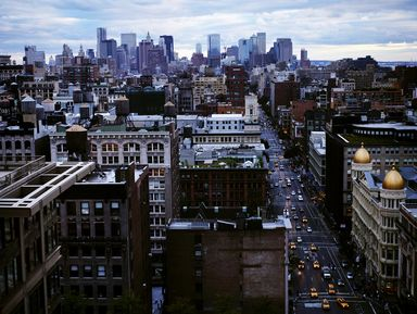 Краткий курс фотографии — городской пейзаж