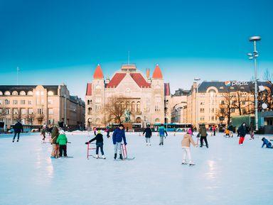Весёлые приключения впраздничном Хельсинки