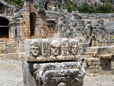 Дыхание древности: из Алании в Миру, Демре и наостров Кекова