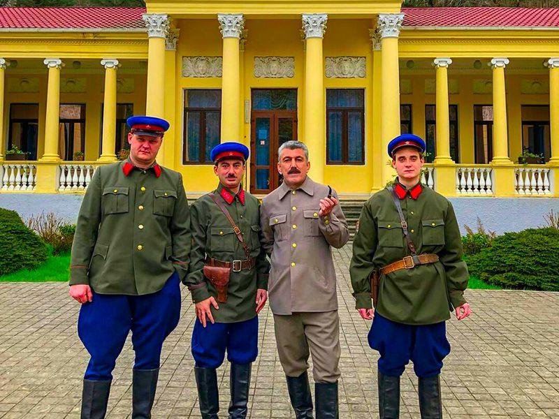 Эксклюзивная авторская экскурсия «Сочи иСталин»