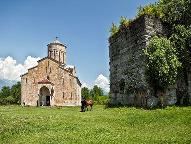Храмы и святыни Восточной Абхазии