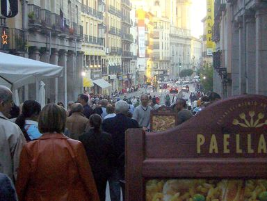 Первое знакомство с Мадридом