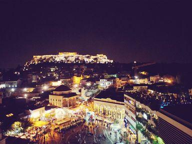 Прогулка по афинским крышам