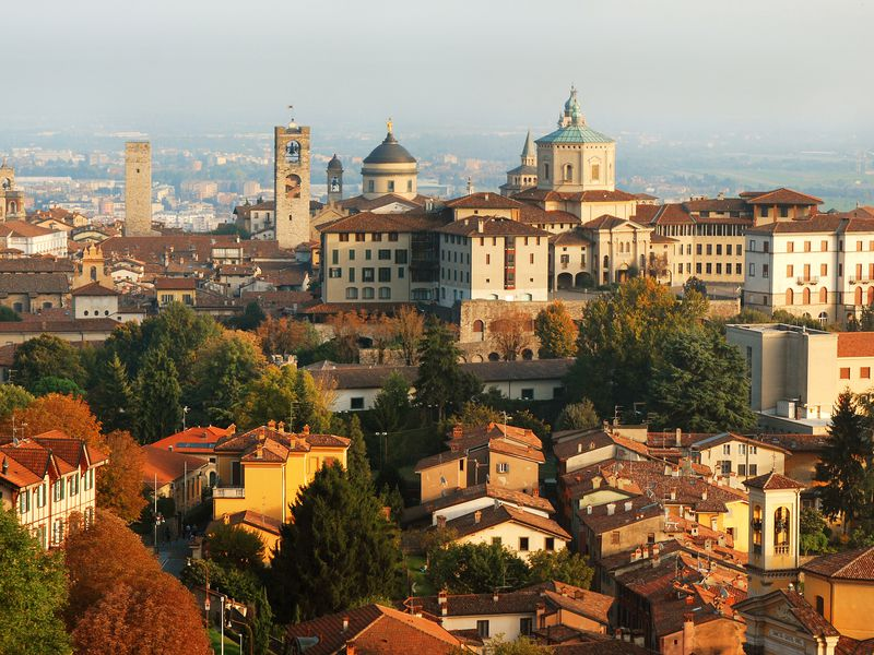 Трансфер + обзорная экскурсия по Бергамо