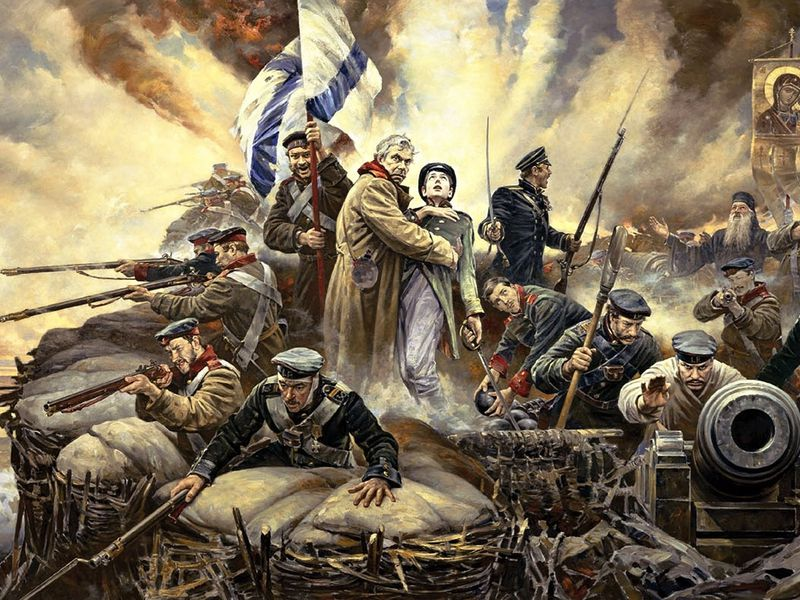 Две войны Севастополя width=