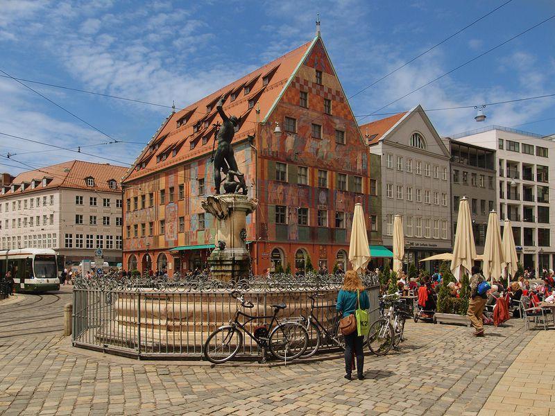 Аугсбург— финансовый центр Европы 16века