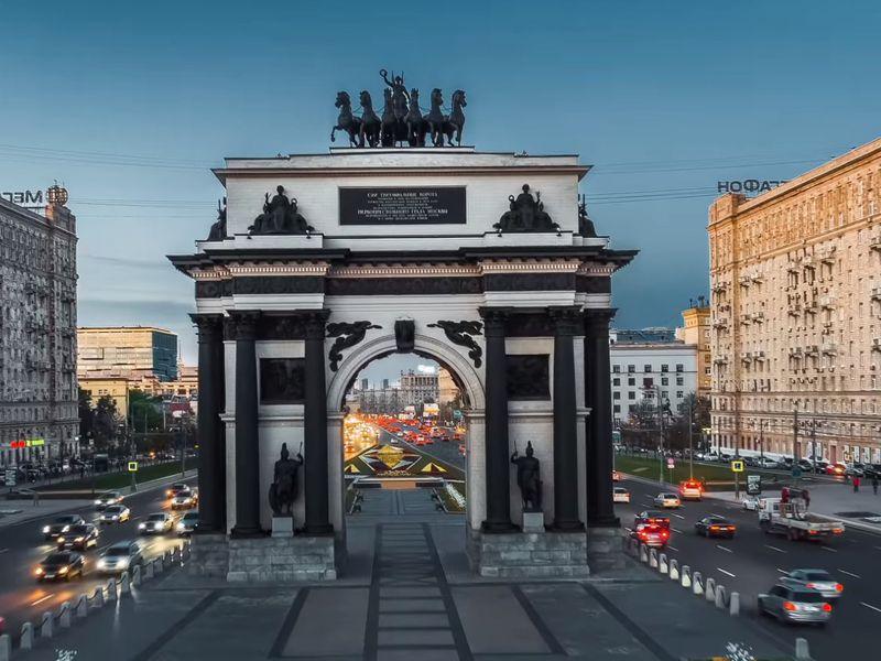 Экскурсия Влюбиться в Москву за один день!