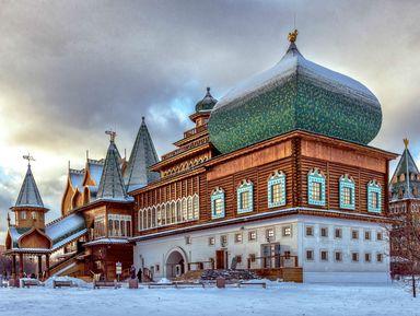Коломенский дворец: как жили русские цари