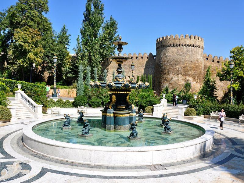 Баку, экскурсия