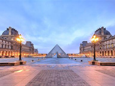 Первое посещение Лувра. Вечерняя прогулка по музею