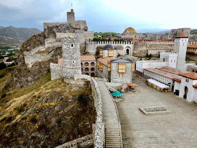 Из Тбилиси в Боржоми и крепость Рабат