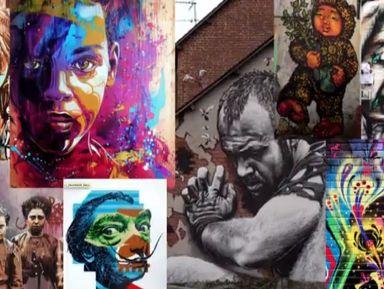 Уличное искусство Амстердама