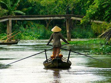Настоящий Вьетнам в дельте реки Меконг