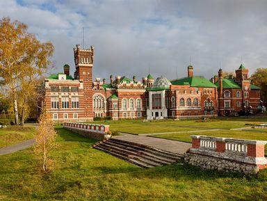 Замок Шереметьева иозеро Светлояр— изНижнего Новгорода