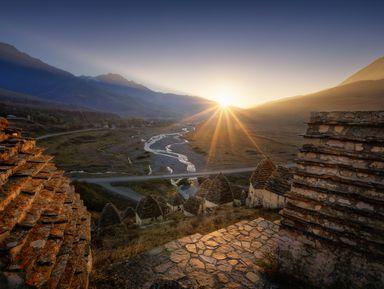 Горы, каньоны и ущелья Северной Осетии