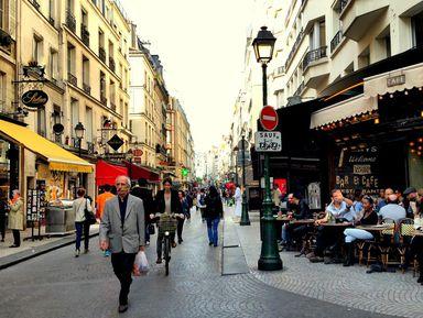 Париж насквозь: от центра до Монмартра