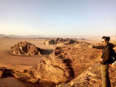 Прогулка по пустыне Вади Рам