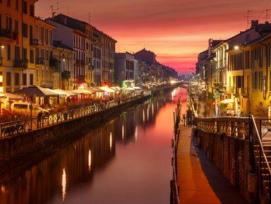 Вдоль каналов вечернего Милана