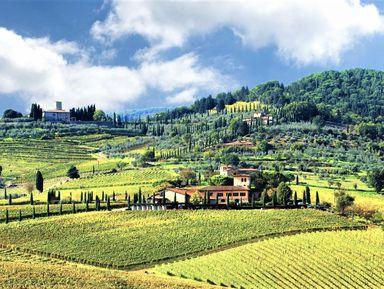 Та самая Тоскана: вино в замке Кьянти и пейзажи
