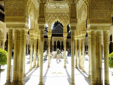 Альгамбра — застывшая поэзия