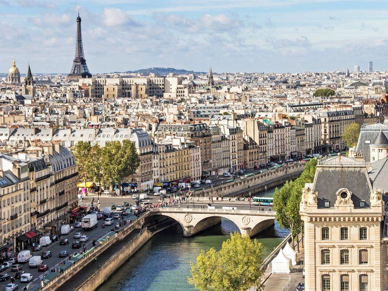 Экскурсия Париж: первая встреча