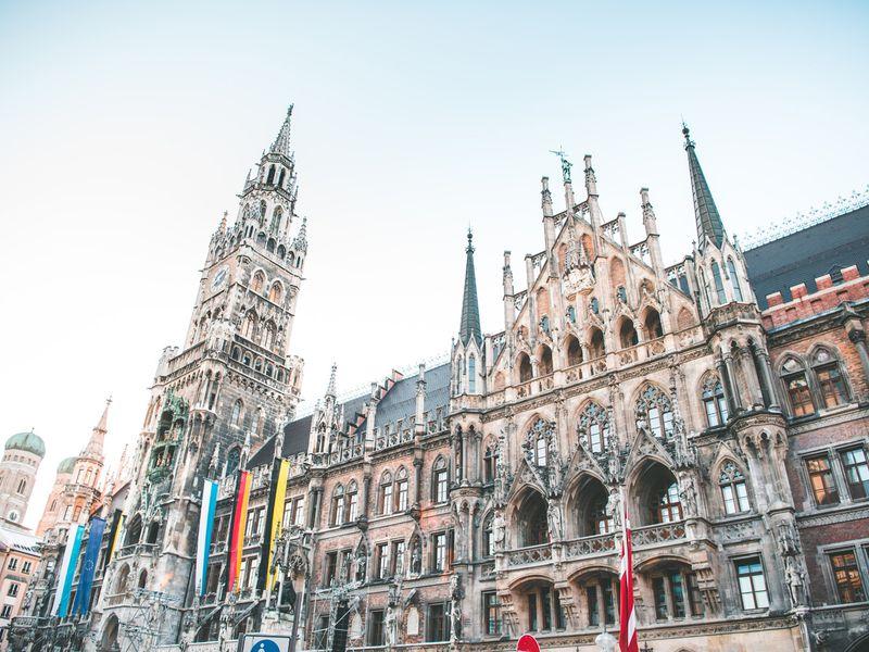 Первый день в Мюнхене