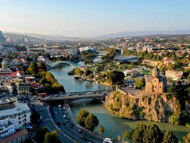 ПоТбилиси— пешком инакатере