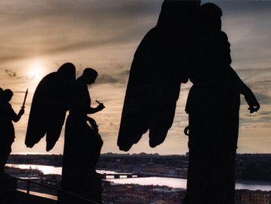 Петербург — город ангелов