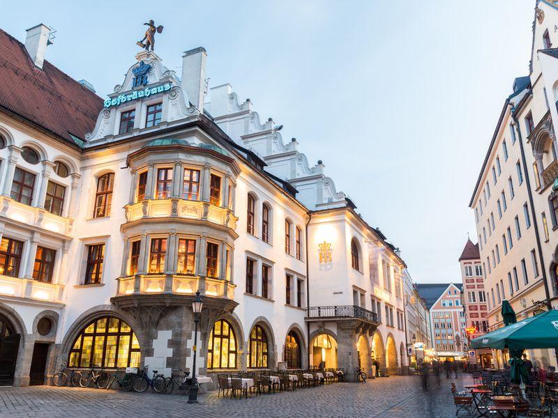 Фото: Первый день в Мюнхене