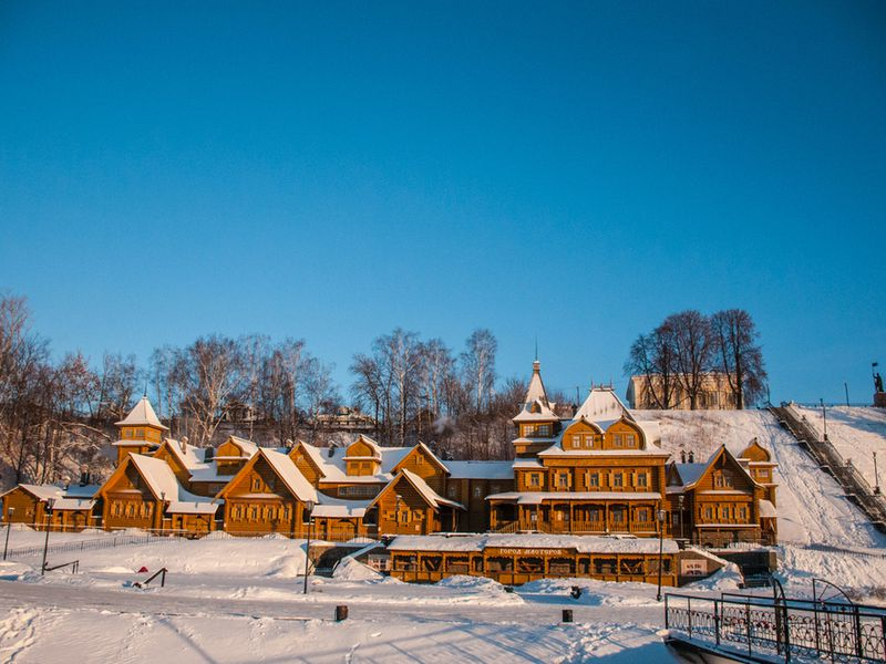 ИзНижнего Новгорода вГородец— ремесла Приволжья