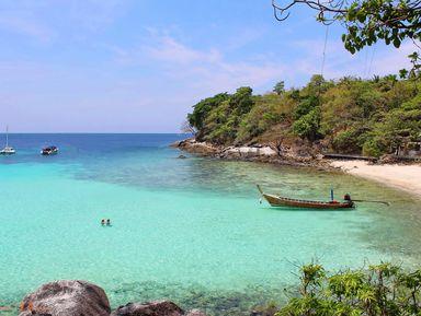 Путешествие к островам Рача, Майтон и Корал
