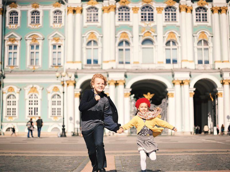 Экскурсия Открыть Петербург детям!