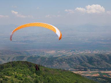 Пролетая над Македонией