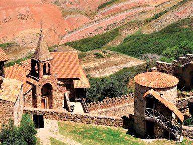 Давид-Гареджи: монастыри, пещеры и пустыня