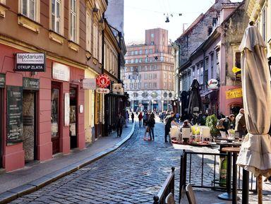 Знакомство с Загребом и его лучшим кофе