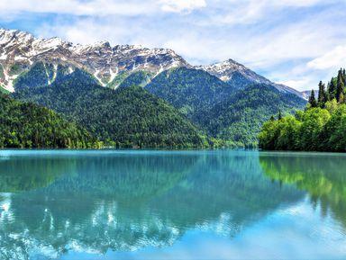 Путешествие на озеро Рица из Гагр