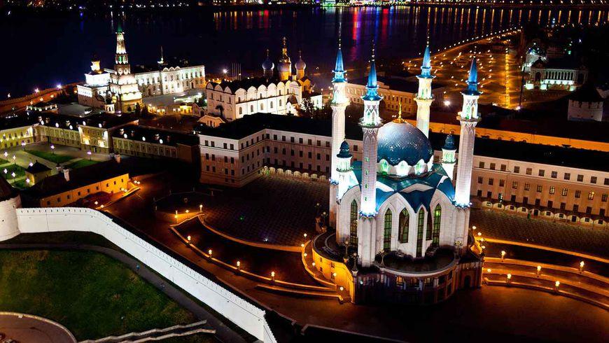 Обзорная экскурсия по вечерней Казани на автобусе