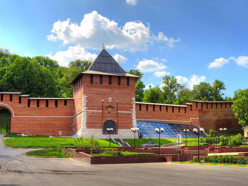 8веков Нижнего Новгорода: обзорная авто-пешеходная экскурсия
