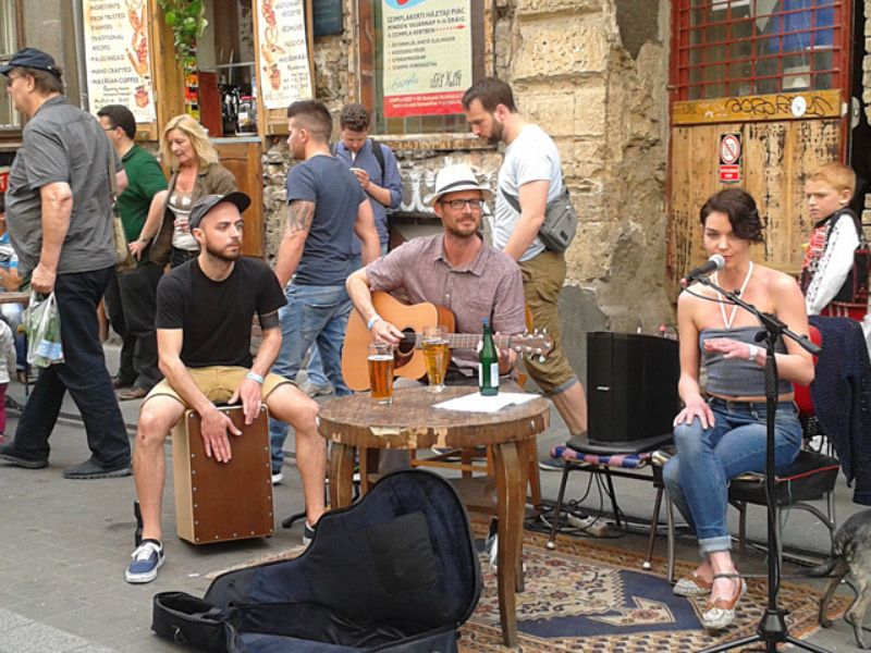 Атмосфера творческого Будапешта
