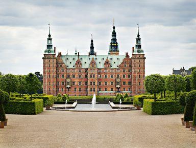Замок Фредериксборг, или скандинавский Версаль