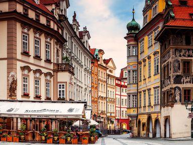 Прага: «Вгостях усказки»
