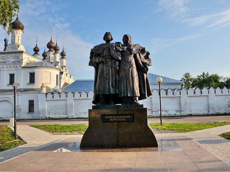 улица Льва Толстого, 11 на карте-панораме Мурома подробно ... | 600x800