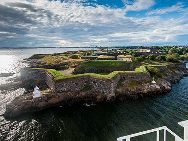 Хельсинки ишведская крепость Свеаборг
