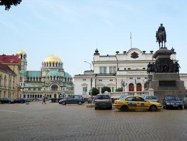 Экскурсия : Обзорная экскурсия по Софии