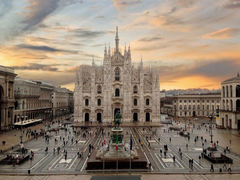 Авиабилеты из Перми в Милан