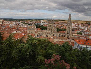 Бургос - древняя столица королевства Кастилии