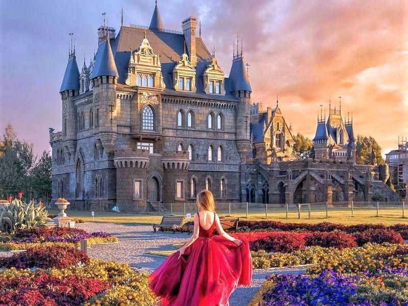 Фото: Сказочный замок Гарибальди